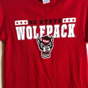 Red NC State Wolfpack T-shirt - Go Pack!